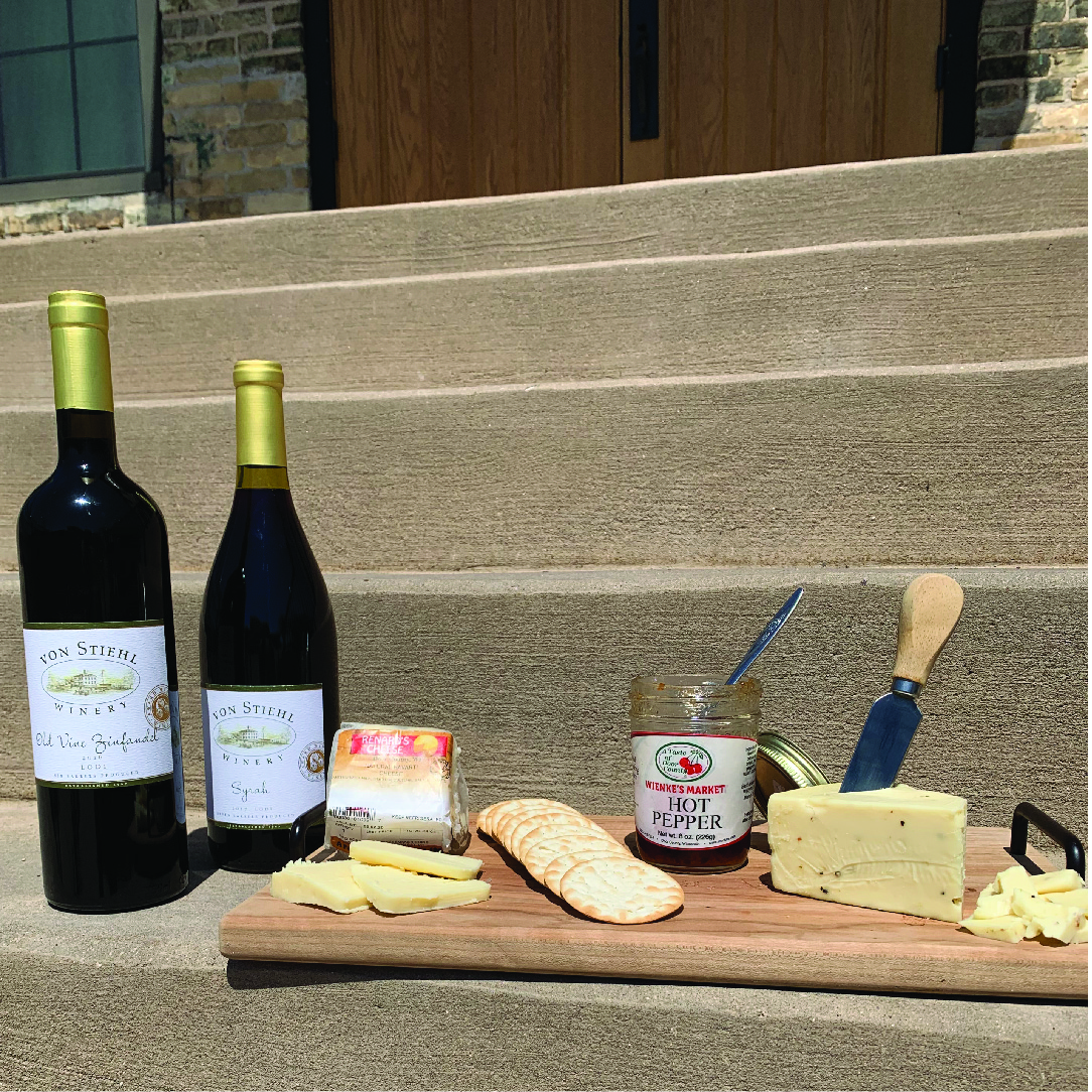 Virtual Wine and Cheese Tasting Kit