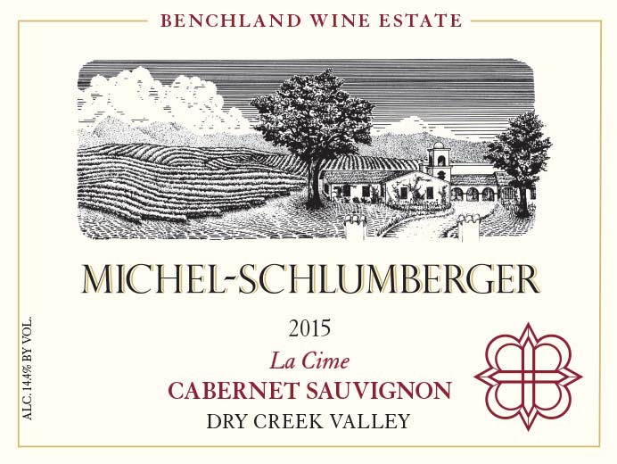 Cabernet Sauvignon 2015 La Cime Dry Creek Valley