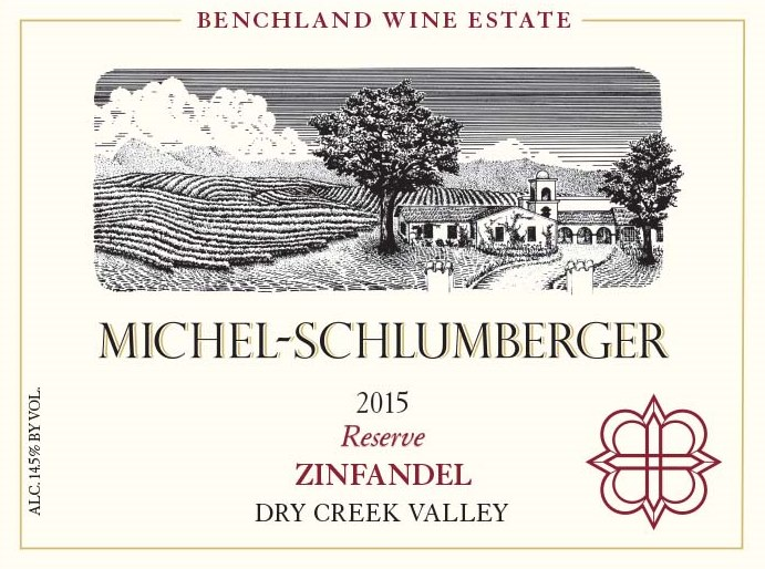 Zinfandel 2015 Dry Creek Valley Reserve *Current Club Release