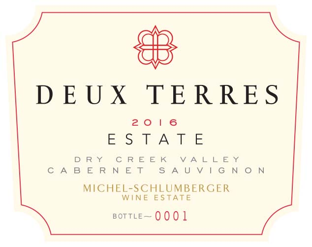 Deux Terres 2016 Dry Creek Valley