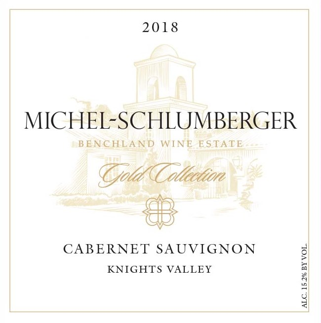 Cabernet Sauvignon 2018 Knights Valley Gold