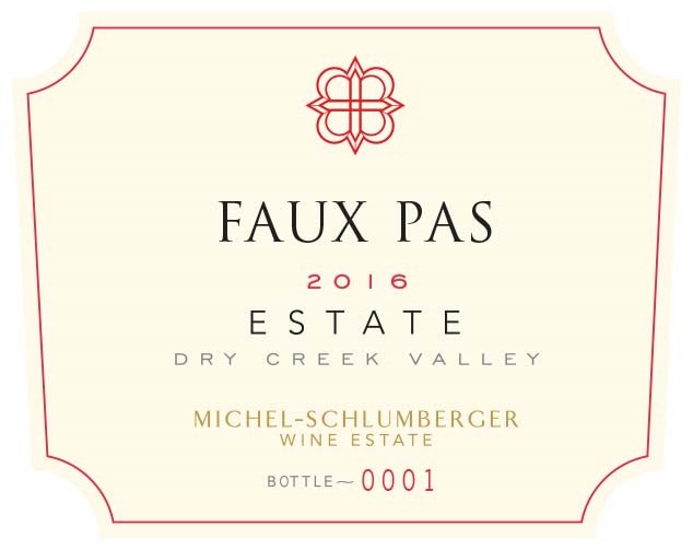 Faux Pas 2016 Dry Creek Valley