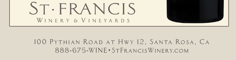 09tres template foot St. Francis Winery & Vineyard Update