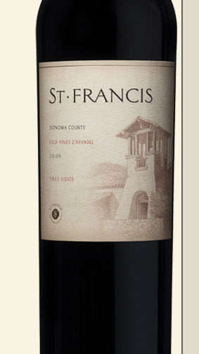 09tres template right St. Francis Winery & Vineyard Update