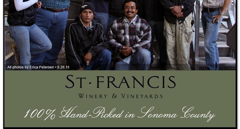 11hvst6 St. Francis Winery & Vineyards