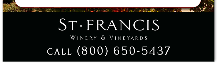 dd11 4 St. Francis Winery Offer