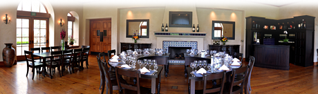 diningroom panorama1 St. Francis Winery Update