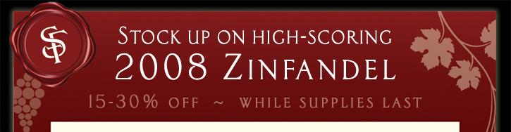 espect1n3 St. Francis Zinfandel Sale