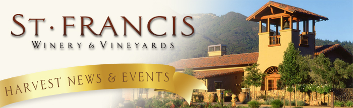 headerharvest1 St. Francis Winery