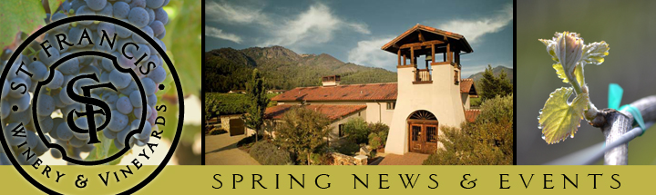 nlheader spring2012 St. Francis Winery Update