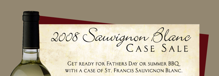 t1 St. Francis Sauvignon Blanc Offer