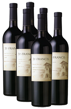 zineg St. Francis Winery Event And Zinfandel Sale