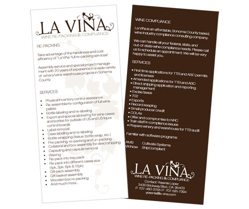 La Vina Wine Re-packing and Compliance
