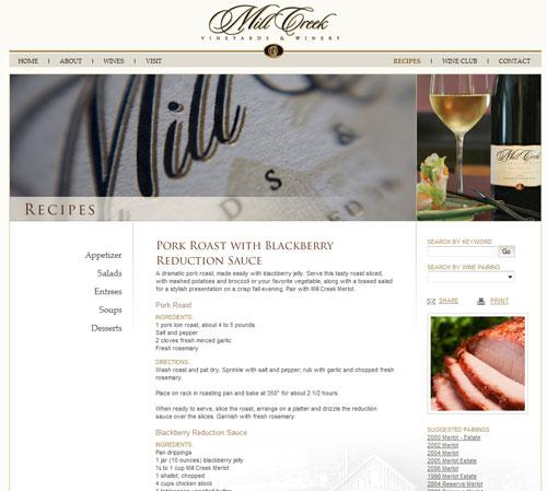 Mill Creek Vineyards & Winery