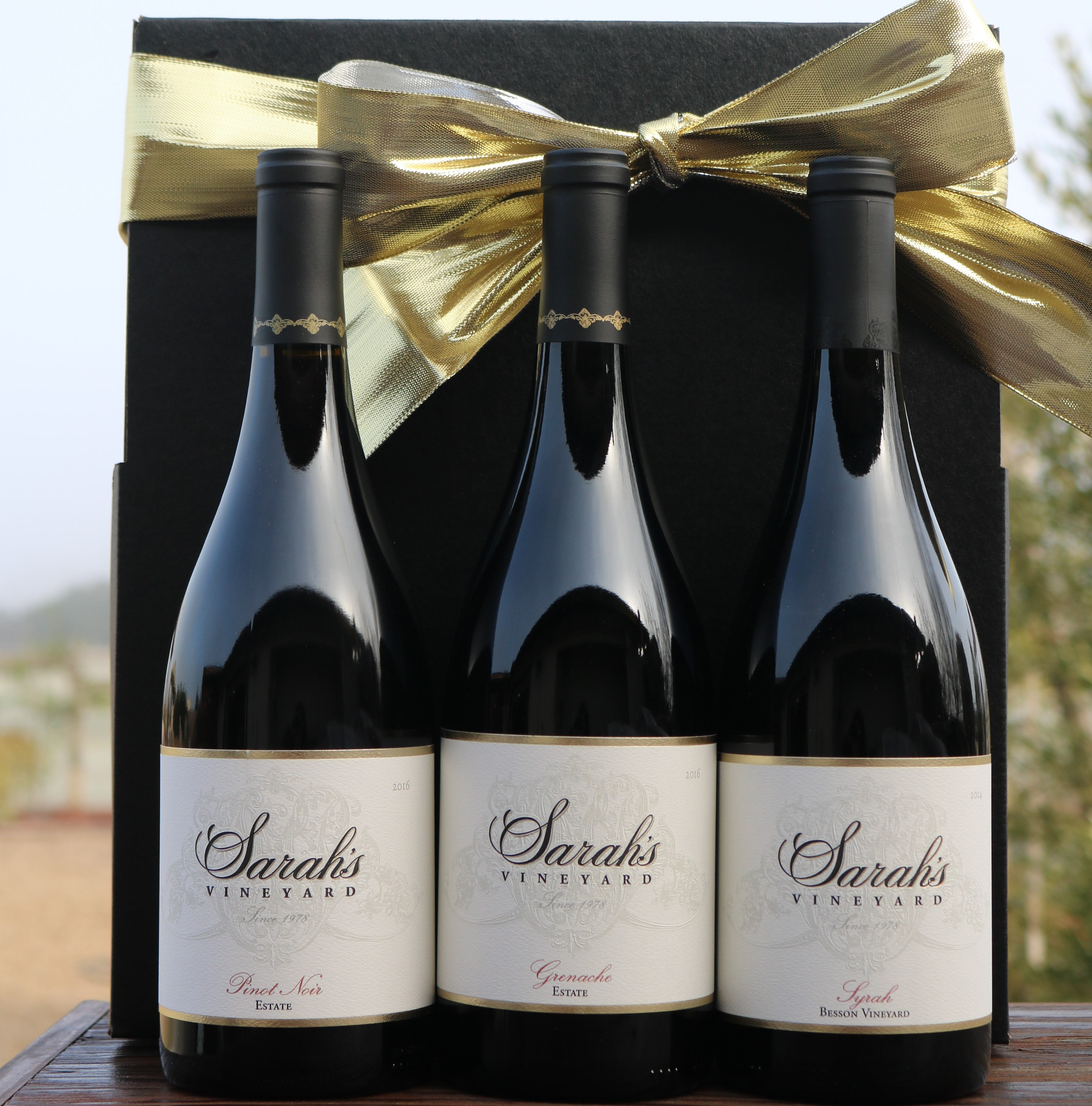 Estate Red Wine Gift Collection Photo