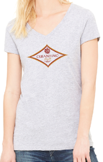 Women's Grey T-Shirt Medium