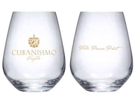 Cubanisimo Stemless Wine Glass