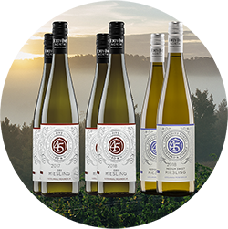 Riesling Sampler- 2 each 20% off!