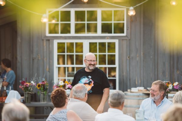 Dinner in the Vines- August 25, 2018