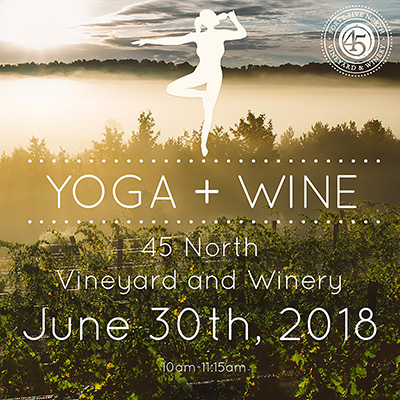 Yoga + Wine June 30th