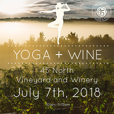 Yoga + Wine July 7th