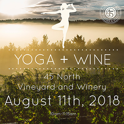 Yoga + Wine August 11th
