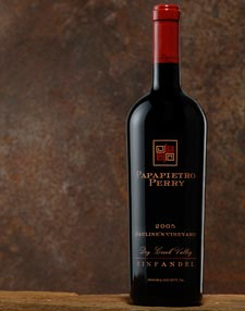 2008 Zinfandel ~ Dry Creek Valley ~ Pauline's Vineyard ~ 750ml