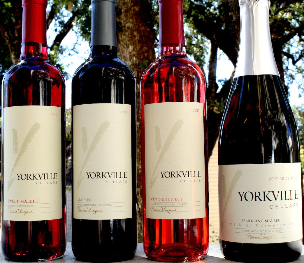 Malbec 4 ways yorkville cellars all are made from certified organic grapes grown in our rennie estate vineyard please our current release page for details on each of these wines xflitez Image collections