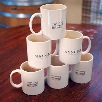 Sanger Family of Wines Official Coffee Mug