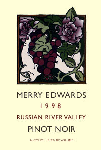 1998 Russian River Valley Pinot Noir
