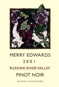 2001 Russian River Valley Pinot Noir