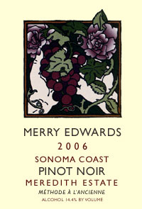 2006 Meredith Estate Pinot Noir