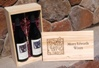 Two-Bottle Wooden Gift Box Photo