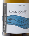 2016 Rock Point Pinot Gris