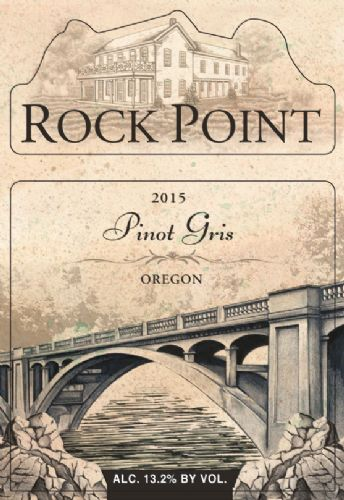 2015 Rock Point Pinot Gris