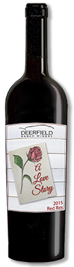 2015 Red Rex Valentine's Day Label