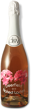 2018 Naked Ladies Sparkling Rose Photo