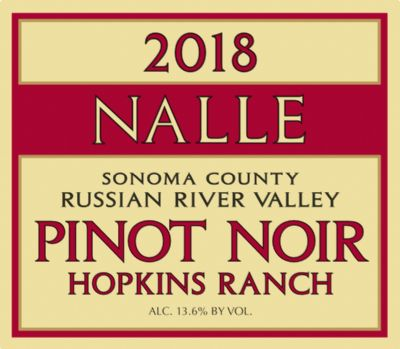 2018 Hopkins Ranch Pinot Noir