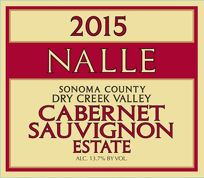 2015 Estate Cabernet Sauvignon Photo