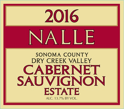 2016 Estate Cabernet Sauvignon Photo