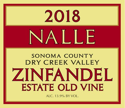 2018 Estate Old Vine Zinfandel Photo