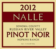 2012 Hopkins Ranch Pinot Noir Photo