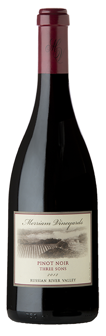 2012 Pinot Noir Three Sons