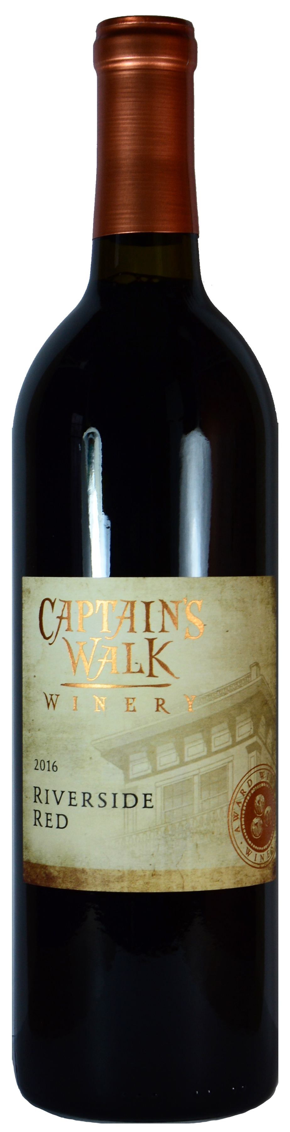 Captain's Walk Riverside Red