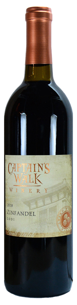 Captain's Walk Lodi Bourbon Barrel Zinfandel