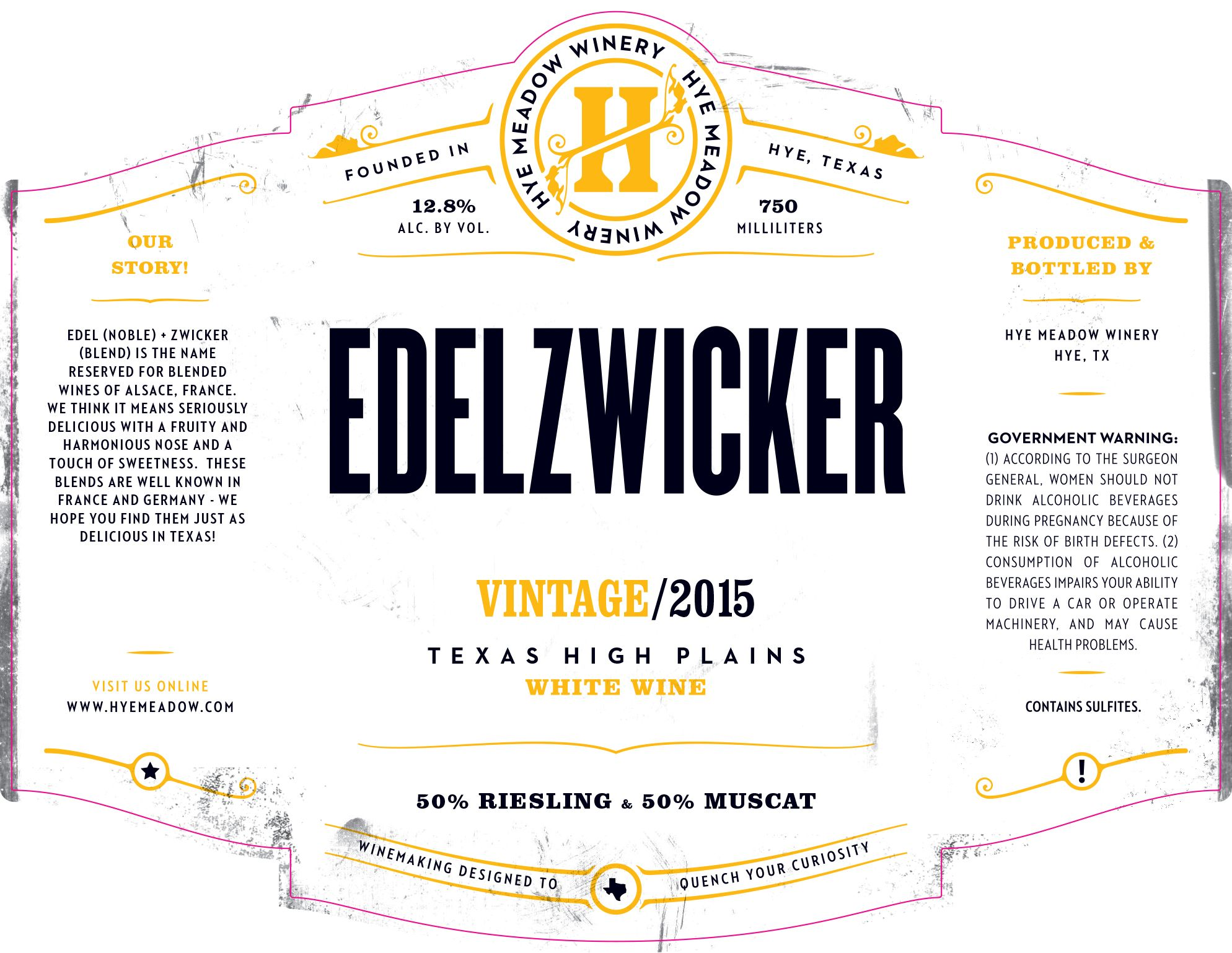 2015 Edelzwicker -- Sold Out  Photo