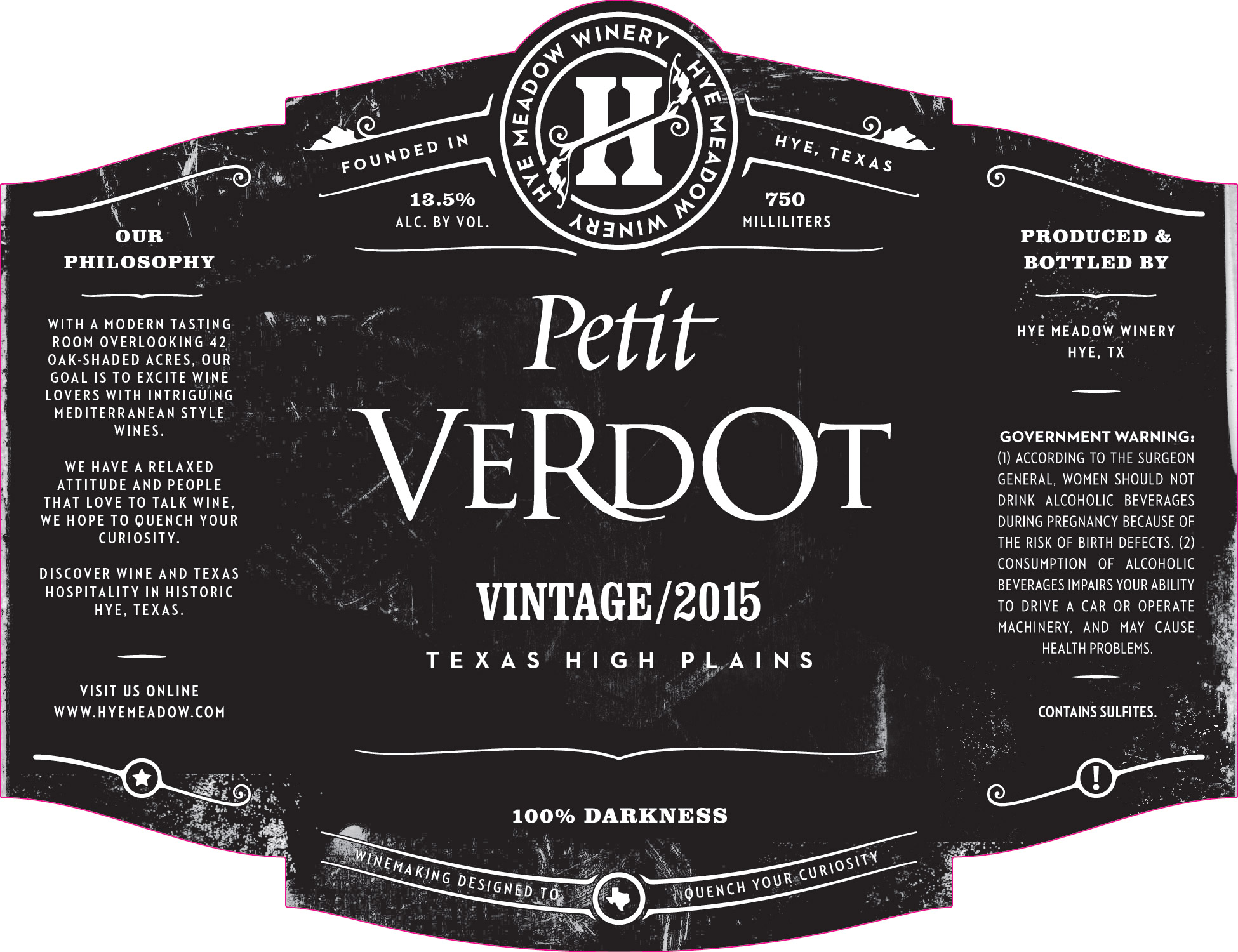 2015 Petit Verdot Photo