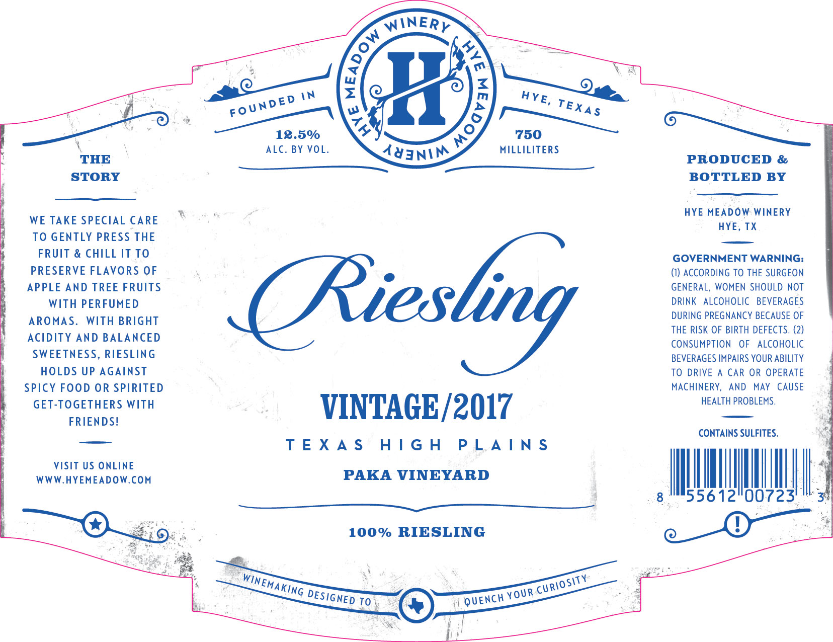 2017 Riesling -- New Release  Photo