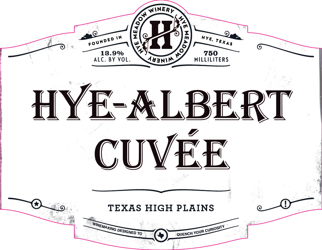 2018 Hye-Albert Cuvee Photo