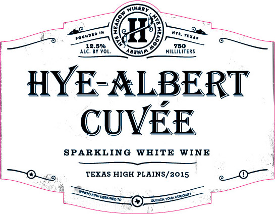 2015 Hye Albert Cuvee - SOLD OUT